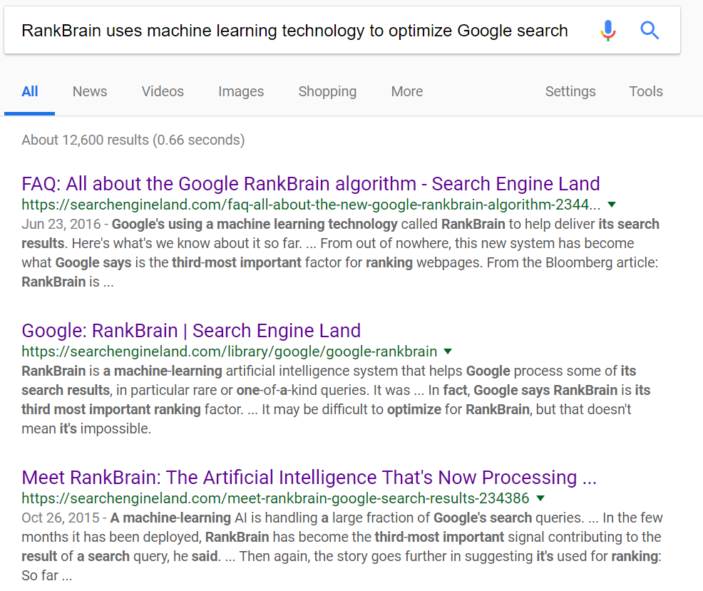 Search results for my ridiculously long query