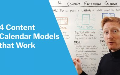 4 (Reasonable) Ways to Make a Content Calendar