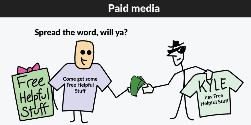 Paid media shirt