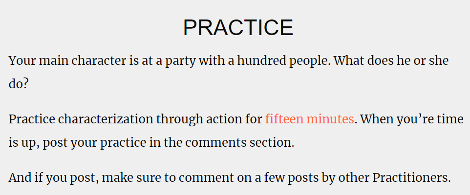 a call to action asking readers to comment and engage with other commenters
